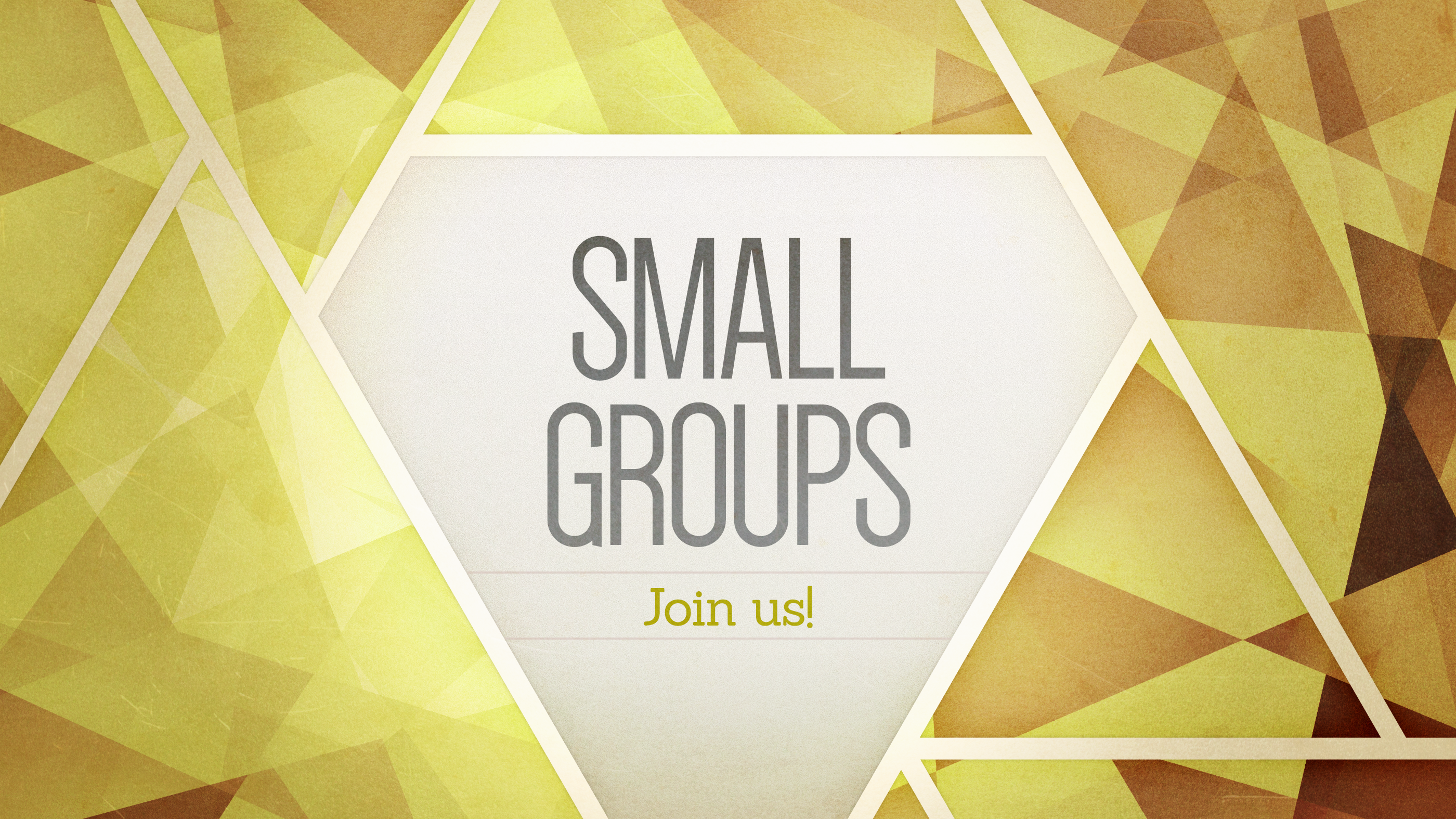 Small Groups Sign Up