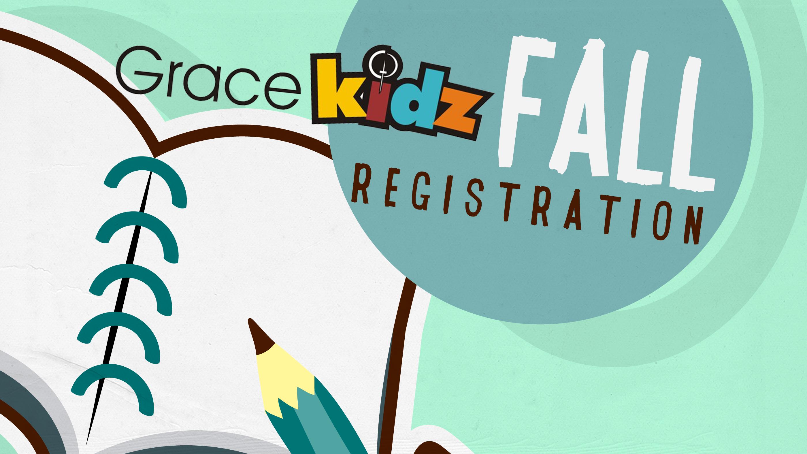 GraceKidz Registration